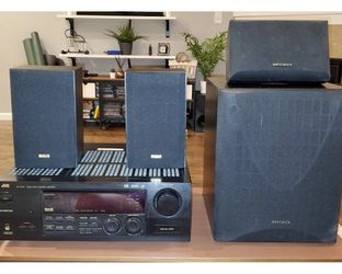 JVC Receiver w/sub and Speakers for Sale in Happy Valley,  OR