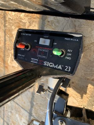Sigma trolling motor for Sale in Hayward, CA
