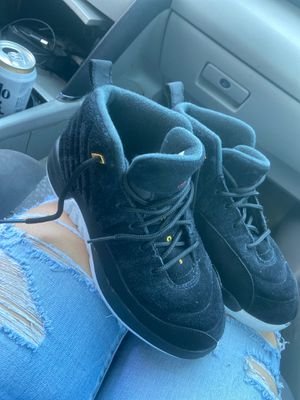 Jordan 12 , size 3y used once for Sale in Houston, TX
