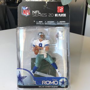 NFL Series 20 Tony Romo Dallas Cowboys QB 9 Collector Action Figure for Sale in Sun City, AZ