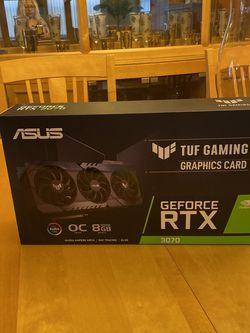 ASUS TUF Gaming NVIDIA GeForce RTX 3070 - BRAND NEW SEALED for Sale in West Palm Beach,  FL
