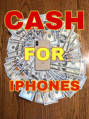 CASH FOR IPHONES OF ANY CONDITION for Sale in Evansville, IN