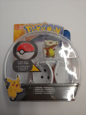 POKEMON TOMY CUBONE POKE BALL POPS OPEN BRAND NEW IN SEALED PACKAGE.  2017 RARE! for Sale in Santa Ana, CA