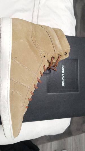 Saint Laurent Beige High-top Sneakers In 2625 Beige for Sale in Hayward, CA