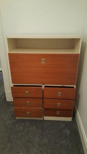 Headboard, dresser, desk, wardrobe for Sale in Pittsburgh, PA