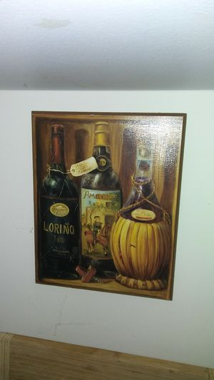 Vintage wood Italian wine decor for Sale in Gaston, SC