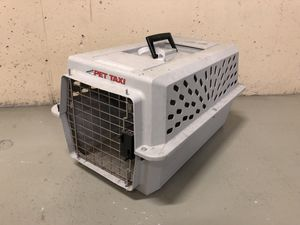 Pet crate cat size for Sale in Charlotte, NC