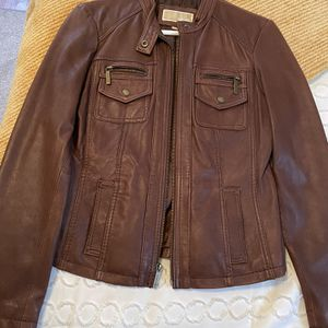 Mickael Kors Leather Jacket for Sale in Anaheim, CA