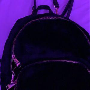 mini soft black & gold backpack for Sale in North Las Vegas, NV