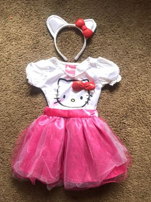 Hello Kitty Dress Up Toddler 2T for Sale in Ontario, CA