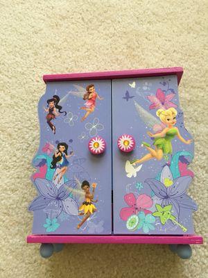 Tinkerbell jewelry box for Sale in Warrenton, VA