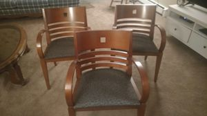 3 wooden chairs with very good condition for sale.. $20 for Sale in Minneapolis, MN