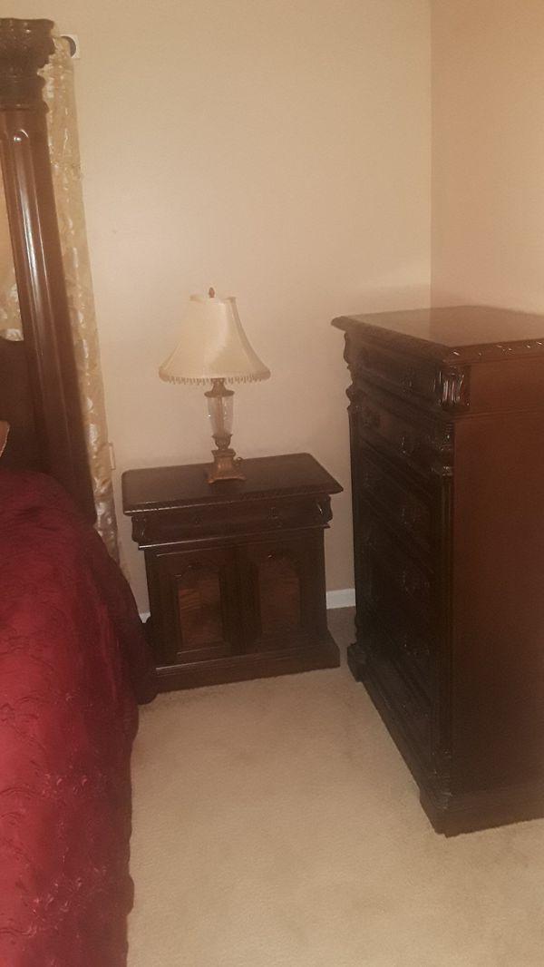 King bedroom and mattress set