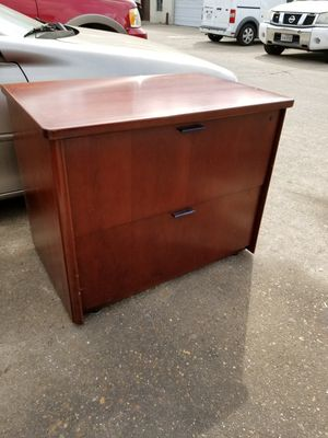 Two drawer lateral file cabinets $60 each (good condition) for Sale in Houston, TX