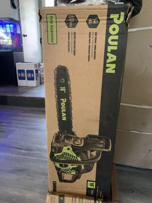 16 inch Polan chainsaw for Sale in Riverdale, GA