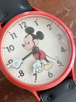 "Mickey Mouse ""Oversized Watch"" Clock for Sale in San Diego,  CA"
