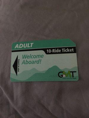 10 ride ticket for Sale in South Burlington, VT