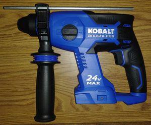 Kobalt 24v Brushless Rotary Hammer for Sale in Henderson, NV