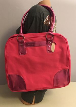 New Victoria's Secret vs pink large zip bag shopper tote heavy duty for Sale in Boston, MA