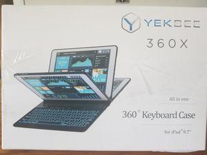"Yekbee keyboard case for iPad 9.7"" for Sale in Evansville, IN"