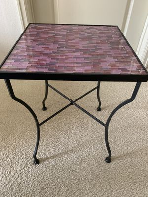 Pair of Coffee tables - metal (pick up only) for Sale in Ashburn, VA