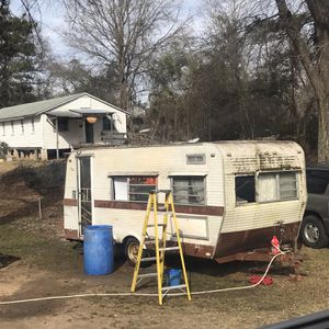Vintage Camper Travel Trailer With Title for Sale in Prosperity, SC