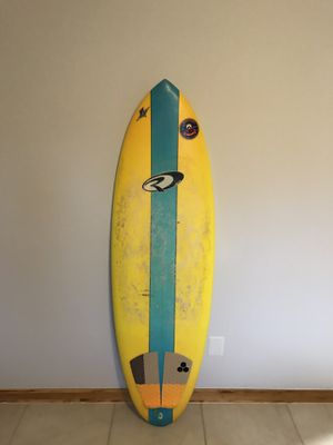 Rival surfboard 5'11 x 21 1/4 x 2 .75 for Sale in Edgewater, FL