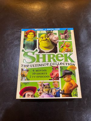 Shrek The Ultimate Collection - 6 Movies / 10 Shorts / 5 TV Episodes for Sale in Las Vegas, NV