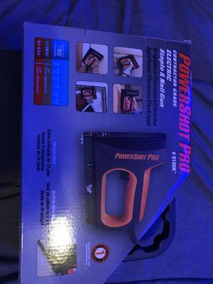 Powershot pro nail gun for Sale in Whitman, MA