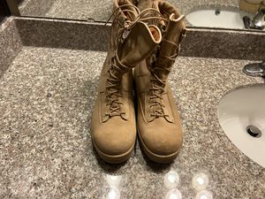 Size 9.5 military boots for Sale in Woodbridge, VA