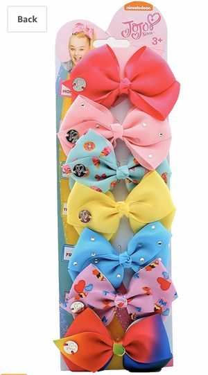 Jojo Siwa Days of the Week (7 hair bow set) for Sale in Hesperia, CA