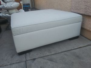 storage box for center of room in good condition measures are 41 by 41 by 17 high for Sale in Phoenix, AZ