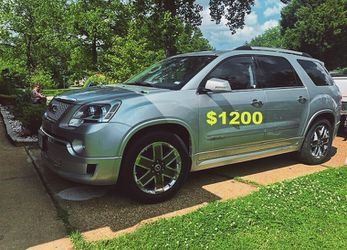 SUV, Beautiful 2012 GMC Acadia 1 Owner, All Records-$1200 for Sale in Washington,  DC