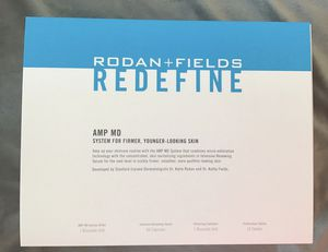 Rodan & Fields Amp MD Sysytem for Sale in Hoffman Estates, IL