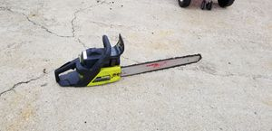 20in chain saw for Sale in Carroll, OH