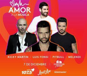 Tickets Uforia Amor a la música for Sale in Miami, FL
