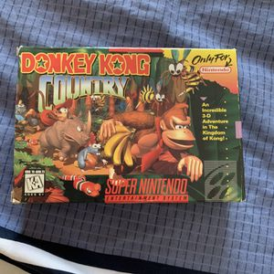 Donkey Kong Country Snes for Sale in Durham, NC