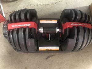 Bowflex SelectTech 552 Adjustable Dumbbell with Free SelectTech App & Space Saving (single) for Sale in Stockbridge, GA