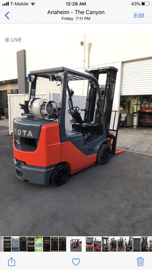 Toyota forklift 6000 pounds for Sale in Anaheim, CA