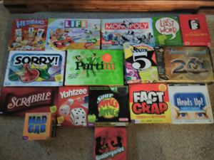 16 Board games!!! for Sale in Woodbury, MN