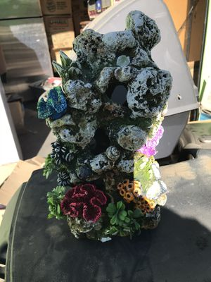 Fish tank decoration 15inch for Sale in Lancaster, CA