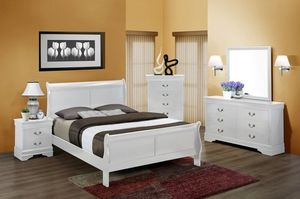 Queen size 4 Piece Bedroom Set COLOR CHOICE for Sale in Glendale, AZ