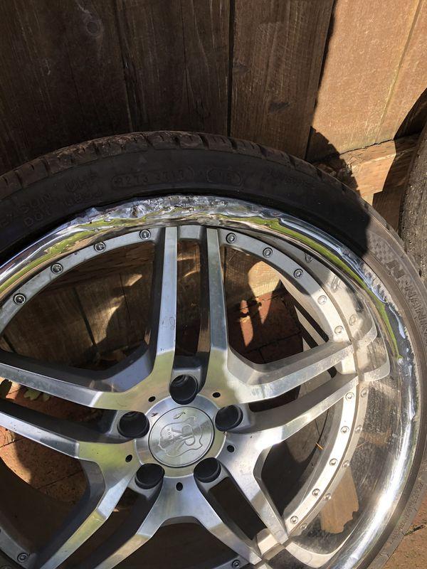Staggered Wheels - Roderick RW2 19x8.5 20x10 5x114.3