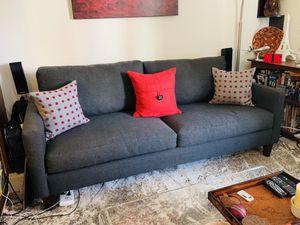 Dark grey sofa for Sale in Oakland, CA