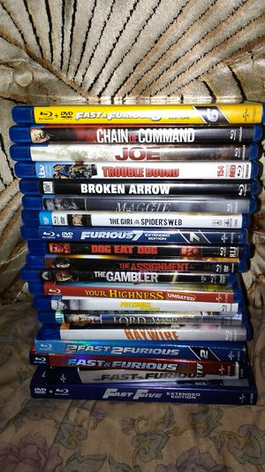 Blu-ray's for Sale in Lynnwood, WA
