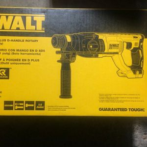 Dewalt Sds Rotary Hammer Plus for Sale in Houston, TX