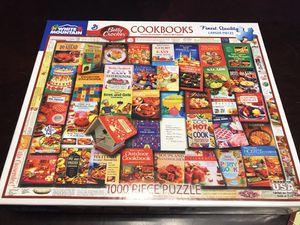 White Mountain 1000 Piece Puzzle: Betty Crocker Cookbooks for Sale in Goodyear, AZ
