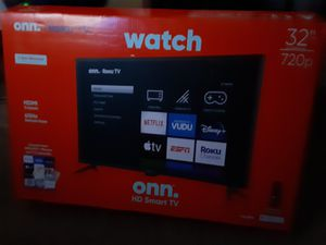 32in HD Smart TV onn Roku TV for Sale in Matthews, NC