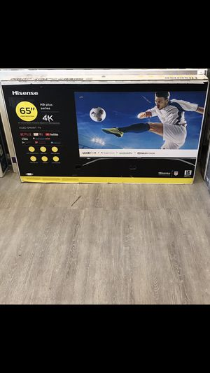 65 INCH HISENSE PLUS H9 4K SMART TV 📺 for Sale in Chino, CA