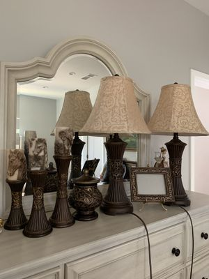 Lamps with accessories for Sale in Los Angeles, CA